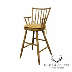 Cohasset Colonials Quality Reproduction Windsor High Chair