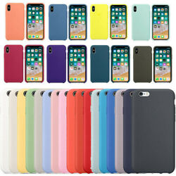Case Silicone Cover ShockProof Soft For iPhone 11 XR XS Max 7 8 6s Plus 5S SE $5.48