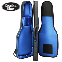 Reunion Blues Rbx Series Rbx-2e Double Electric Guitar Padded Soft Case Black