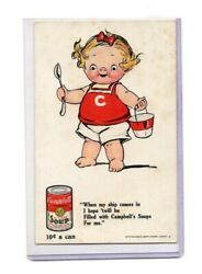 Advertising Campbell's Soups-campbells Kid Series Number 3