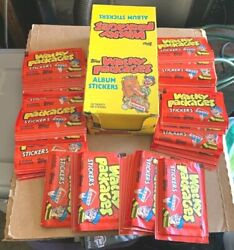 Wacky Packages Album Stickers Box 1986