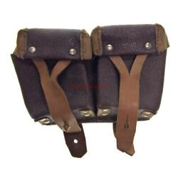 Military Magazin Ussr Soviet Russian Army Soldier Twin Pouch Mosin Rifle Ammo