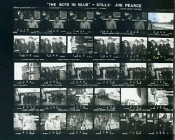 Boys In Blue 1982 Cannon And Ball - Rare Original Film Studio Bandw Contact Sheet