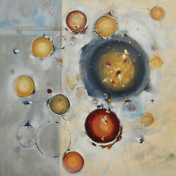 Where The Stars Fall - Abstract Art - 48 X 48 In - Large Abstract Oil Painting