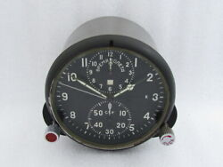 Achs-1 Chronograph Ussr Russian Aircrafts Tu-134 Mig-21 Helicopter Mi-9 Clock