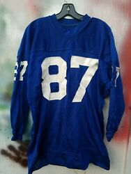 Vintage 1960s New York Giants Thorp Sand Knit Official Jersey Size 52