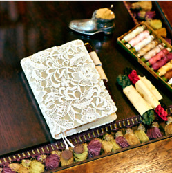Hobonichi Techo 2019 Notebook Cover Flower Lace for A6 Original Planner Beige $103.99
