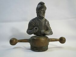 Willys Knight Radiator Cap / Hood Ornament 1920and039s Mascot Antique Rare Unusual