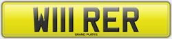 W111 Rer Wirer Number Plate Registration Assigned Free Wires Electrical Amps Reg