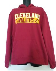 Lebron James Cleveland Cavaliers Majestic Pullover Hoodie Size Xl Nwt