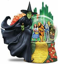 Wizard Of Oz Wicked Witch Of The West Musical Glitter Globe Lights Up Bradford