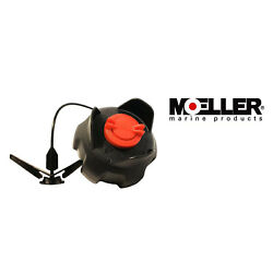 Moeller Marine Products Replacement Gas Cap 305994-10 Boat Engine Marine