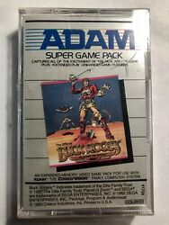 Buck Rogers Planet Of Zoom Adam Cassette Tape Super Game Pack Coleco Visionandnbspnew