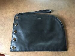 Hammitt Richard Leather Clutch Black $75.00