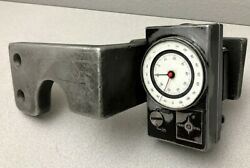 Trav-a-dial .001/.01mm Dial English/metric Readout 7s + Br-78 Bracket And Mount