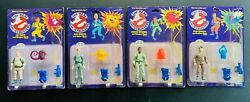 The Real Ghostbusters Kenner 1987 Nib 🔥 Yellow Text Wave 3 Hero Figures Lot A1