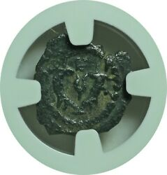 Authentic Ancient Jewish Hasmonean King Herod The Great Ngc Vf Scarce This Nice