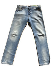 Valentino Rock Stud Light Blue Skinny Jeans Size 30 Mens Homme Ford 780 Rrp