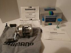 Vintage Shimano Calcutta 200 Baitcasting Fishing Reel With Box And Instructions