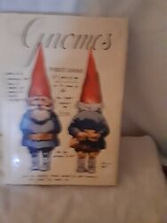Vintage Gnomes Book By Rien Poortvliet And Wil Huygen Illustrated Abrams Signed