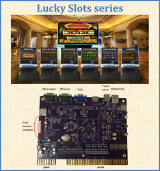 Lucky Slots Series New Release Cherry Master 8 Liner Pog Pot O Gold Vga Pcb