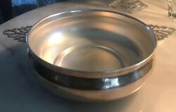 Sheffield Silver Co. Serving Bowl Only No Lid Or Glass Pyrex