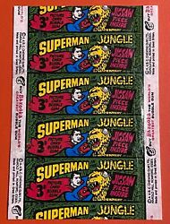 Superman In The Jungle Wrapper - Very Clean Condition