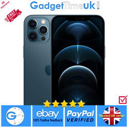 New Apple Iphone 12 Pro Max 512gb - Pacific Blue - Limited Uk Stock