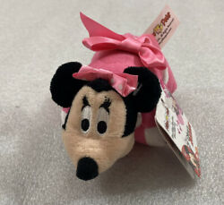 Disney Jr. MINNIE MOUSE mini Pillow Pets 6quot; NWT