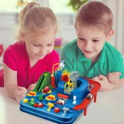 Children Educational Car Toys Racing Train Tracks Cars Adventure Toy Smart Game