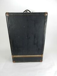 Antique Berg Hardshell Vaudeville/theatre Suitcase 29  Made In Long Island Ny