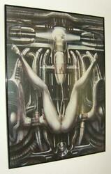 Extremely Rare Alien Hr Giger Deathbirth Machine Iii Le Of 100 Art Poster Edit