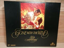 Gone With The Wind Vhs 1990 2-tape Set Rare Commemorative 50th Anniversary