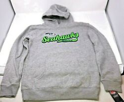 Gift Set Seattle Seahawks Pullover Sweatshirt, Gloves And Hat Youth Medium