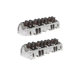 Air Flow Research 0914w/6400 Sbc 190 Vortec Corona Series Cyl. Heads Pair