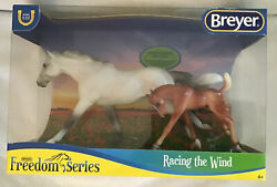 Breyer Thoroughbred And Foal