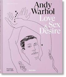 Andy Warhol Love Sex and Desire First Edition Book