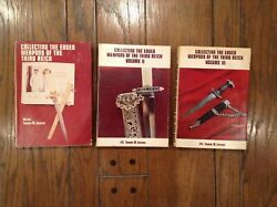 Collecting The Edged Weapons Of The Third Reich Vols I Ii Iii First Edition