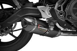 Yosh Alpha Race Series Full Exhaust Carbon Pipe System For Kawasaki Z650 2017-18
