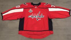 Braden Holtby Washington Capitals Red Stanley Cup Finals 2018 Game Issued Jersey