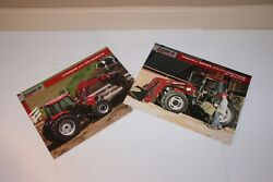 Caseih Farmall Utility Tractors 50-90hp Loaders And Implements C Andu Series