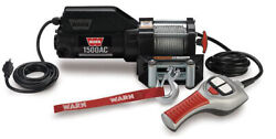 Warn 85330 1500 Ac Winch With Magnet Motor And 43 Ft. Wire Rope - 1500 Lbs.