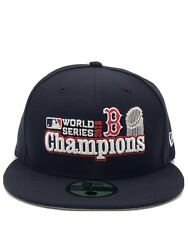 New Era Boston Red Sox 2018 World Series Champ Hat Fitted Cap 59Fifty 5950 7 3 4