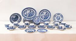Churchill And Johnson Brothers Blue Willow 50-piece Dinnerware Set