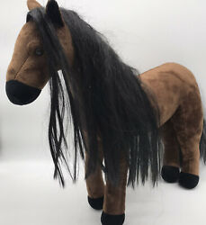 Madame Alexander Posable Brown Horse 20andrdquo Plush Pony Animal Toy Fits 18 Dolls