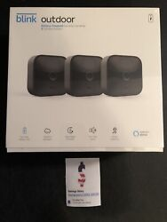 Blink Outdoor 3-camera 3rd Gen Xt Security Camera System And Module All New 2020