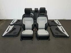 2020 Range Rover Evoque Heated Leather Interior Seats And Door Cards