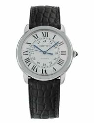 Ronde Solo Stainless Steel Automatic 36mm Mid-size Watch Wsrn0013