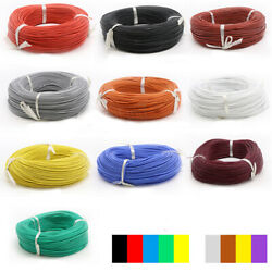 0.08mm Ul Stranded Silicone Soft Cable Tinned Copper Wire 17/15/13/11/7/6/4/2awg