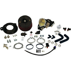 170-0289 Induction Kit 70mm Cable Operated Harley Flhr 1450 Road King 2005